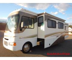 2004 Fleetwood Flair 34ft Class A Motorhome with 2 Slide Outs